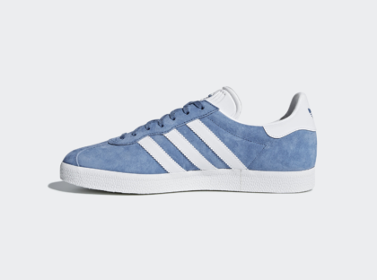 Синие Adidas Gazelle