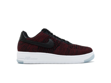nike air force 1 flyknit low красные