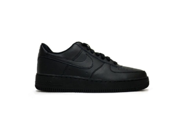 nike air force 1 low черные
