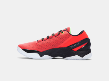 under armour curry 2 low красные3