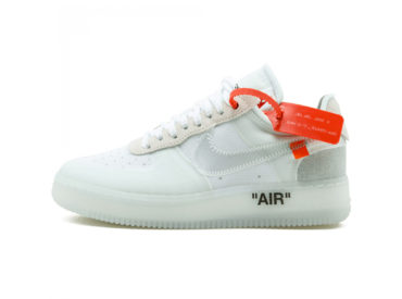 NIKE AIR FORCE 1 LOW — WHITE