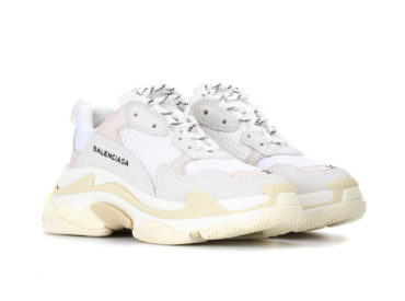 BALENCIAGA TRIPLE S SNEAKERS WHITE
