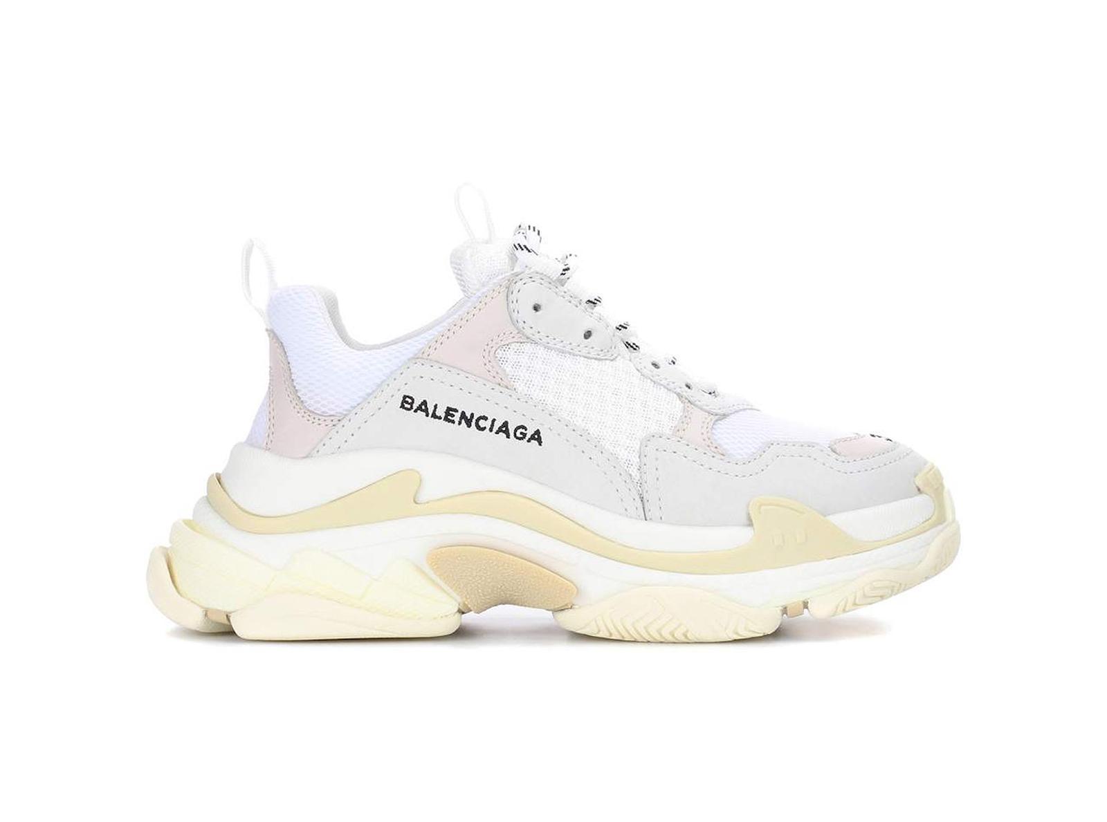 679013a0 BALENCIAGA - TRIPLE S SNEAKERS / WHITE - магазин Степшоп