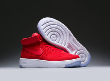 Nike Air Force 1 Mid Red