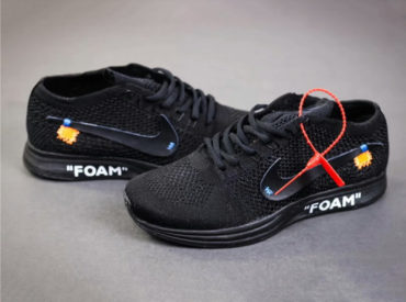Nike Flyknit Racer Black x Off-White_1