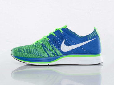 Nike Flyknit Trainer Varsity Royal Electric Green White