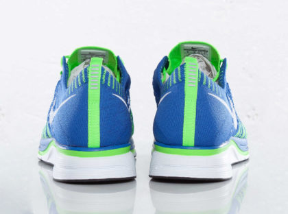 Nike Flyknit Trainer Varsity Royal/Electric Green/White