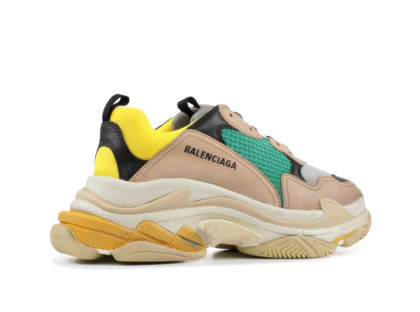 Balenciaga Triple S Beige Green Yellow