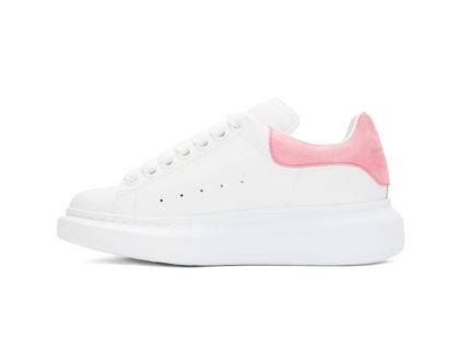Alexander McQueen White & Pink