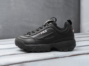Fila Disruptor II All Black_2