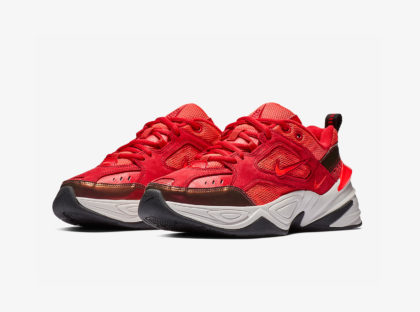 NIKE M2K TEKNO 'RED SUEDE'