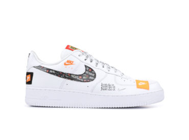 NIKE AIR FORCE 1 '07 PRM JDI JUST DO IT
