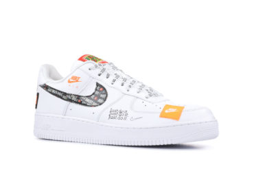 "NIKE AIR FORCE 1 '07 PRM JDI ""JUST DO IT"" в Минске"