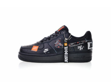 NIKE Air Force 1 `07 PRM JDI Low White Black_1