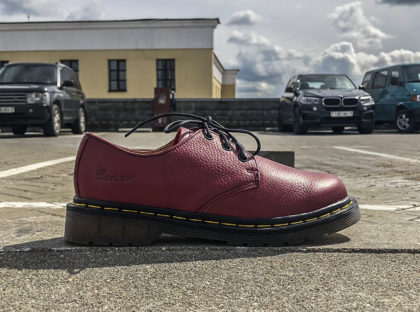 Dr Martens 1461 Gibson Cherry Red Smooth