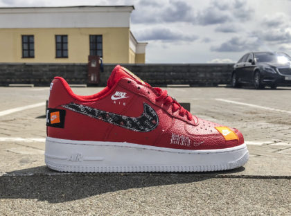 Nike Air Force 1 Low Red Just do it