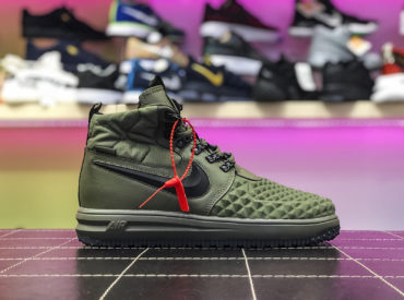 Nike lunar force 1 Duckboot Green